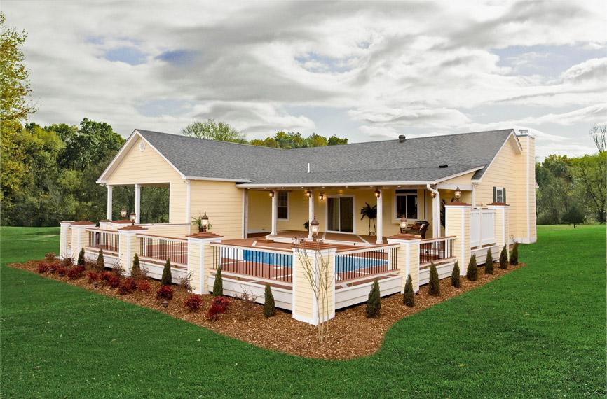 Modular home exterior photos pratt homes - What is a modular home ...