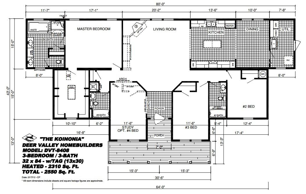 Koinonia Floor Plan Pratt Homes