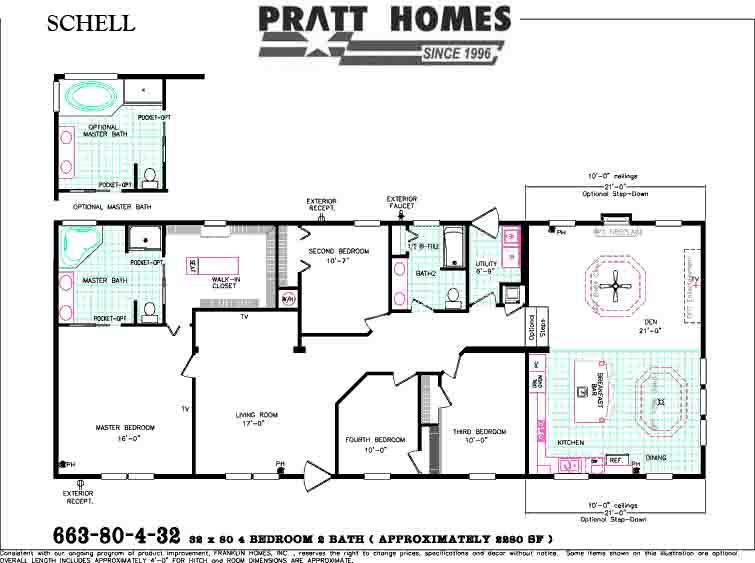 Schell Floor Plan