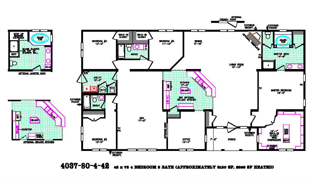 Goliath Floor Plan Pratt Homes