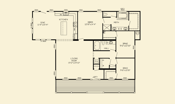 Willow floor plan thefloors co for The willow house plan