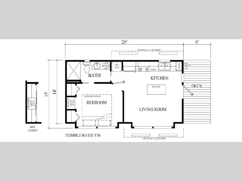 tumbleweed tiny house floor plans