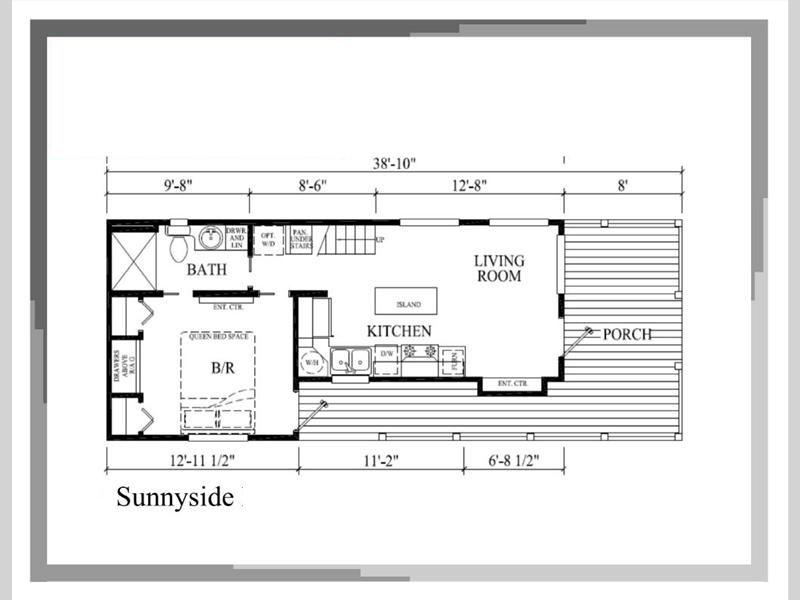 Sunnyside Tiny House Floor Plan Pratt Homes