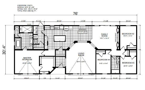 Jeter Modular Home Floor Plan Pratt Homes