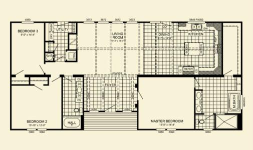 Yates Modular Home Floor Plan Pratt Homes