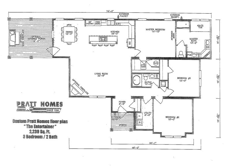 Entertainer Pratt Homes