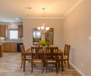 Dining Room from house model Oak Hill