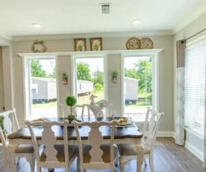 Modular Home dining Room
