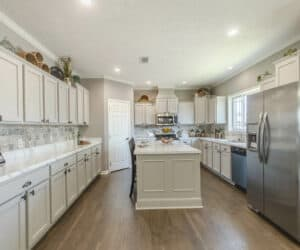 Furnished Kitchen from house model Gunny