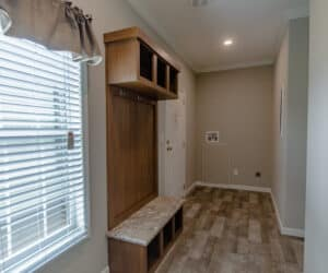 Utility Room from house model Oak Hill made by Pratt Homes