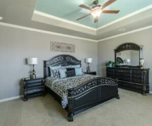 Bedroom from house model Gunny