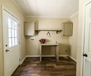 Utility Room from house model Jennifer