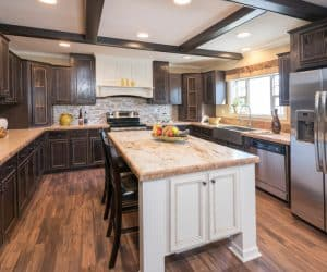 We use best quality materials for kitchen cabinets