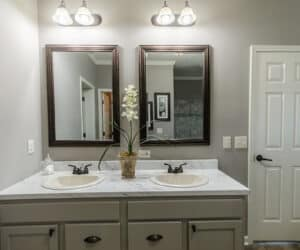 Master Bathroom from house model Gunny