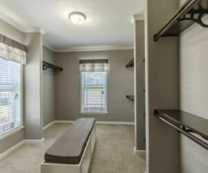 Closet from house model Gunny made by Pratt Homes