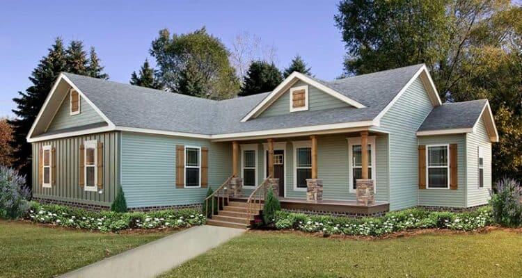 Exterior of house model Carlton from Pratt Homes