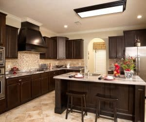 Carlton Modular Home kitchen details