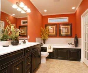 Rockwood Modular Home bathroom made by Pratt from Tyler Texas