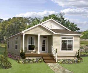 Rockwood Modular Home exterior made by Pratt from Tyler Texas