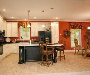 Rockwood Modular Home kitchen made by Pratt from Tyler Texas