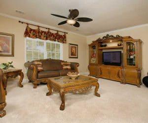 Rockwood Modular Home living room made by Pratt from Tyler Texas
