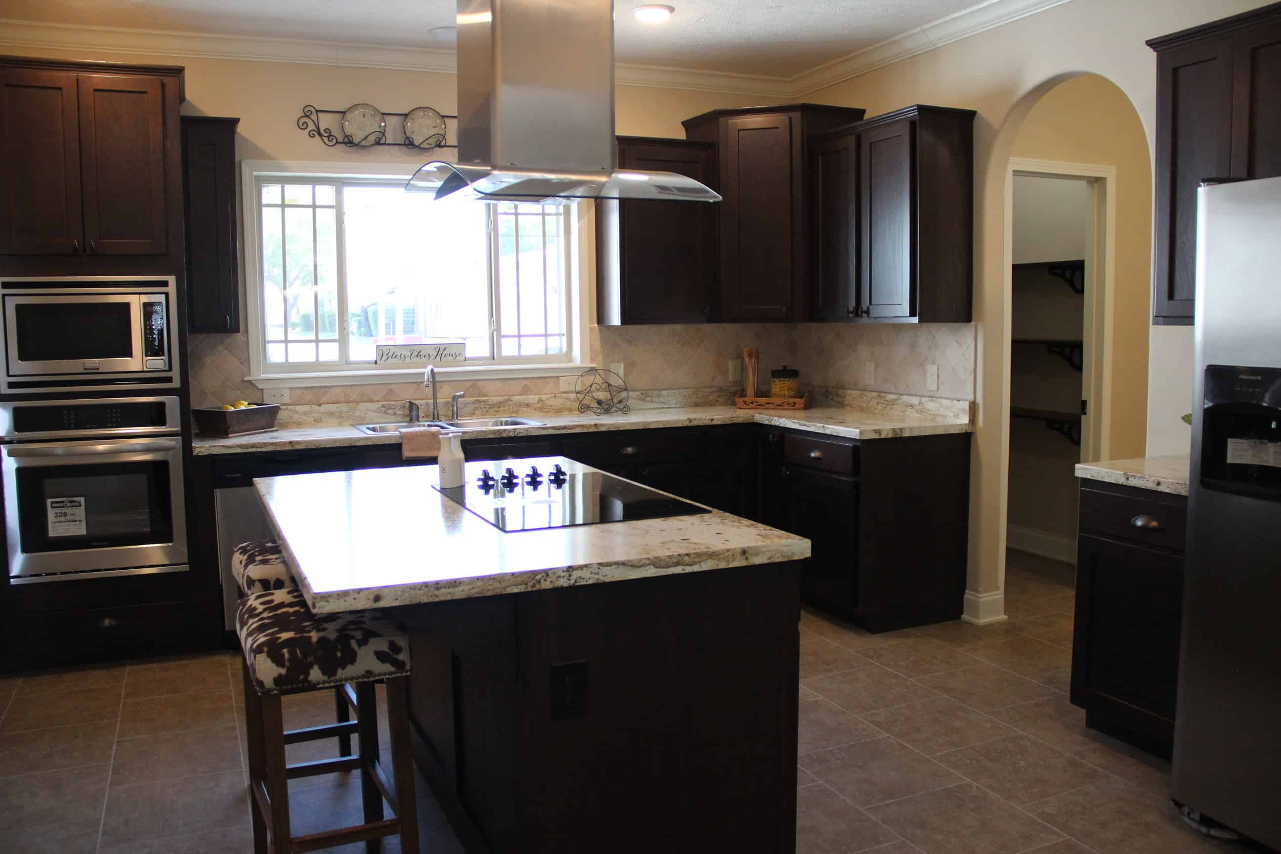 Kitchen area from house model Brian Ritz
