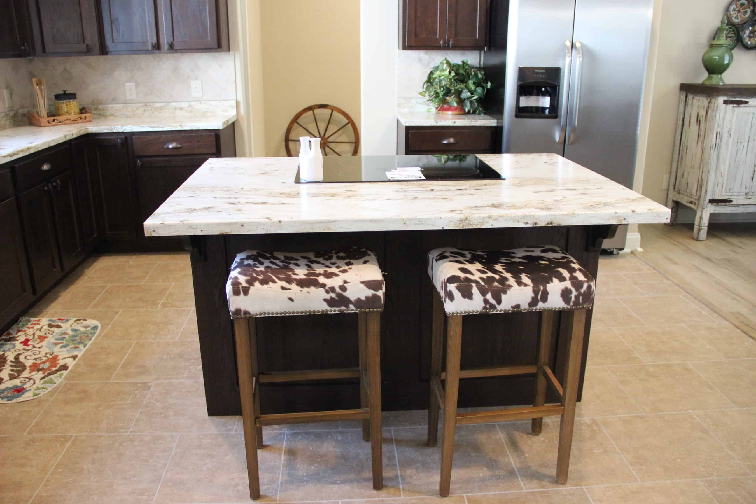 Kitchen Island from house model Brian Ritz