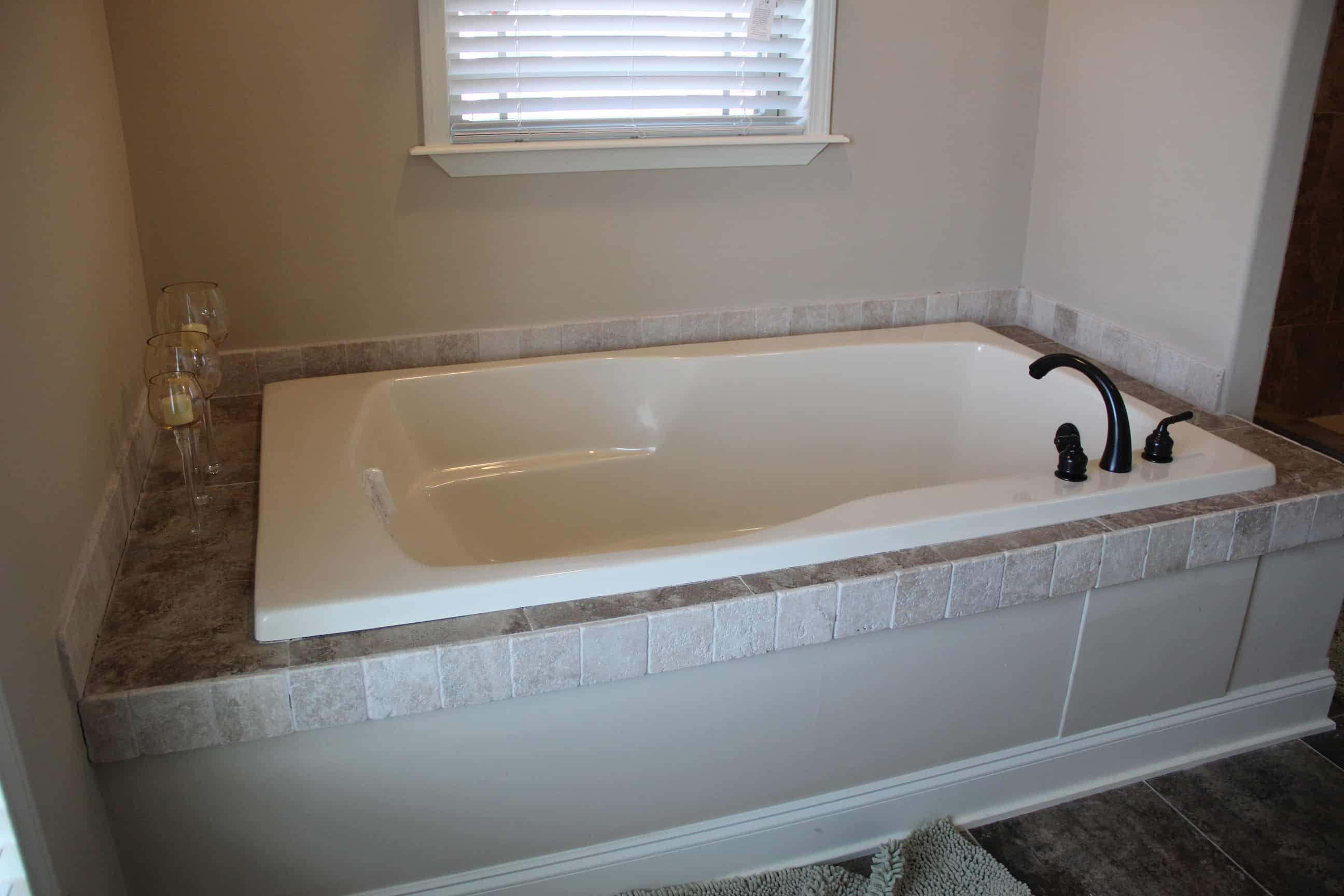 Bathtub from house model Brian Ritz