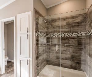Shower in the house made by Pratt from Tyler Texas