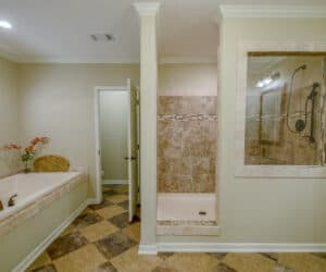 Bathroom with bathtub from Pratt Homes