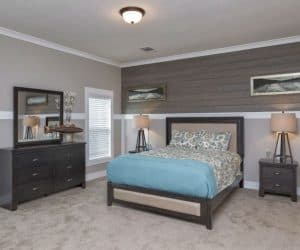 Edington Modular Home bedroom furniture