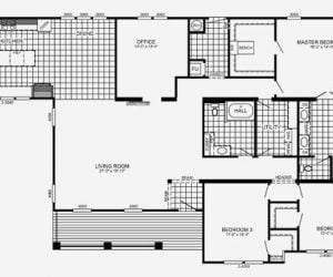 Edington Modular Home Floorplan