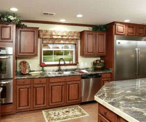 Fairfax Modular Home kitchen details