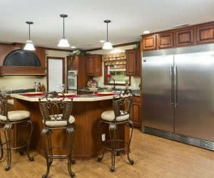 Fairfax Modular Home kitchen appliances