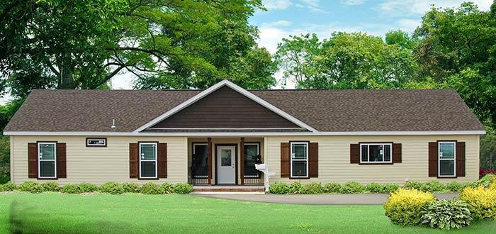 Exterior of house model Gunny from Pratt Homes