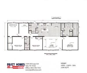 Plans for home model Henry