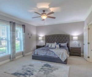 Master Bedroom of house model Sterling