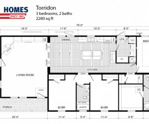 Torridon Modular Home Floorplan