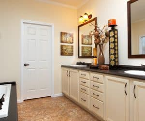 Willow Modular Home Bathroom area