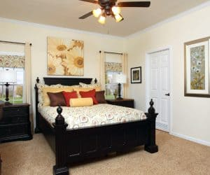 Willow Modular Home bedroom