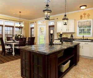 Willow Modular Home dining room