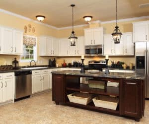 Willow Modular Home kitchen