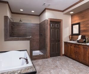 Yates Modular Home bathroom