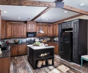 Yates Modular Home Kitchen