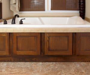 Bathtub from modular house model Adirondack