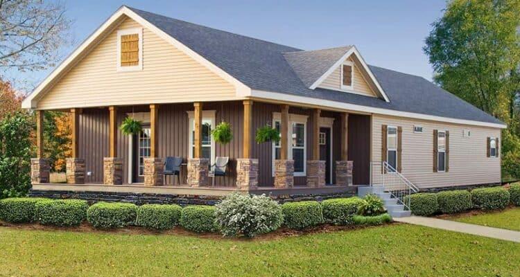 Exterior of house model Torridon from Pratt Homes