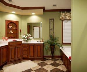 Freedom Modular Home bathroom area