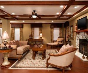 Freedom Modular Home living room