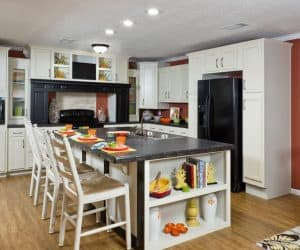 Hampton Modular Home kitchen by Pratt from Tyler Texas