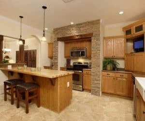 High Sierra Modular Home kitchen